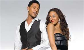 Derwin &Melanie -courtesy of BET