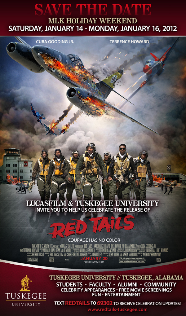 Red Tails Opening Weekend